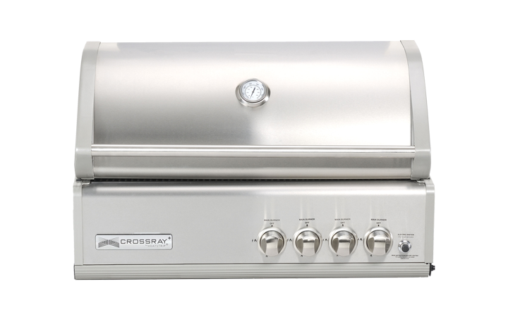 4 Burner Gas BBQ Inbuilt_