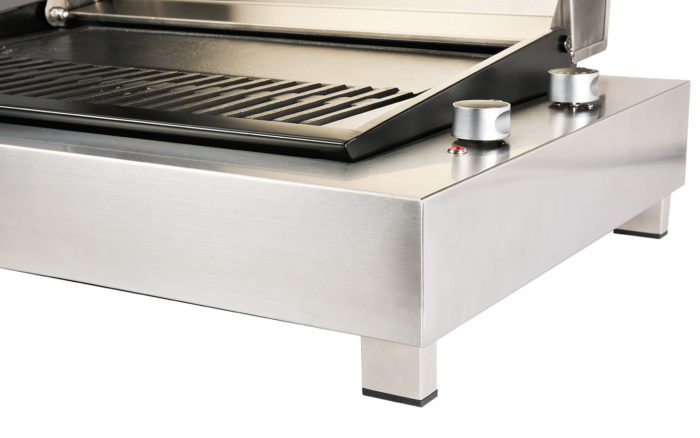 Electric BBQ Stainless Steel Feet
