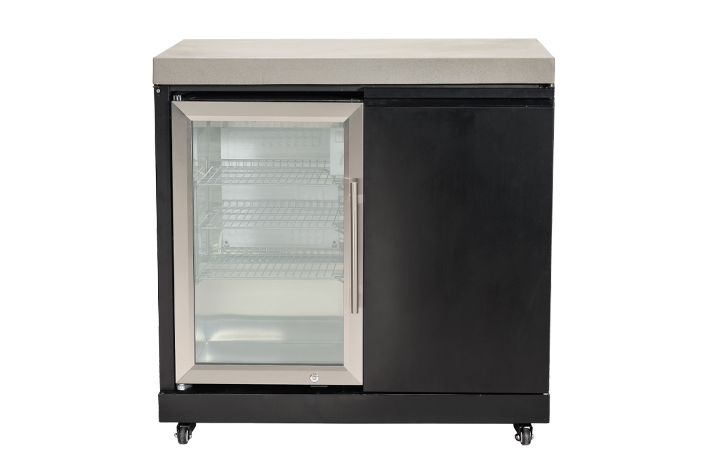 Kitchen Cabinet with Fridge